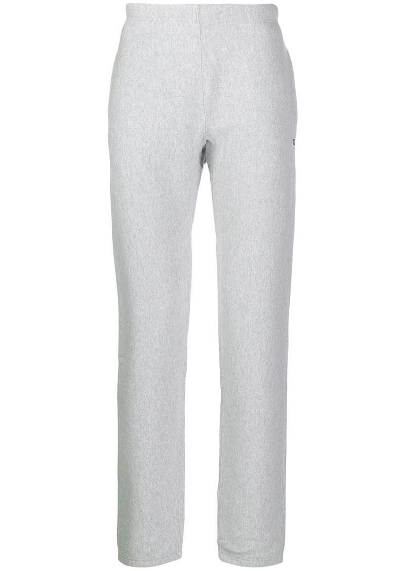 Champion grey reverse weave terry cotton sweat pants