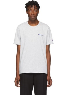 Champion Grey Small Script T-Shirt