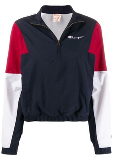 Champion half-zip colour-block jacket