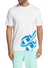 Champion Heritage Panel Script T-Shirt