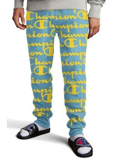 Champion Life® Reverse Weave Script Fleece Jogger Pants