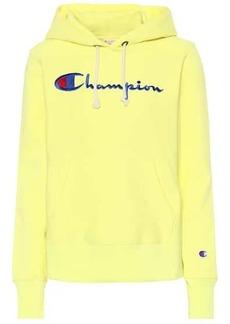 Champion Logo cotton hoodie