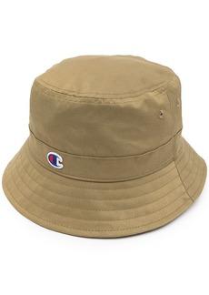 Champion logo patch bucket hat