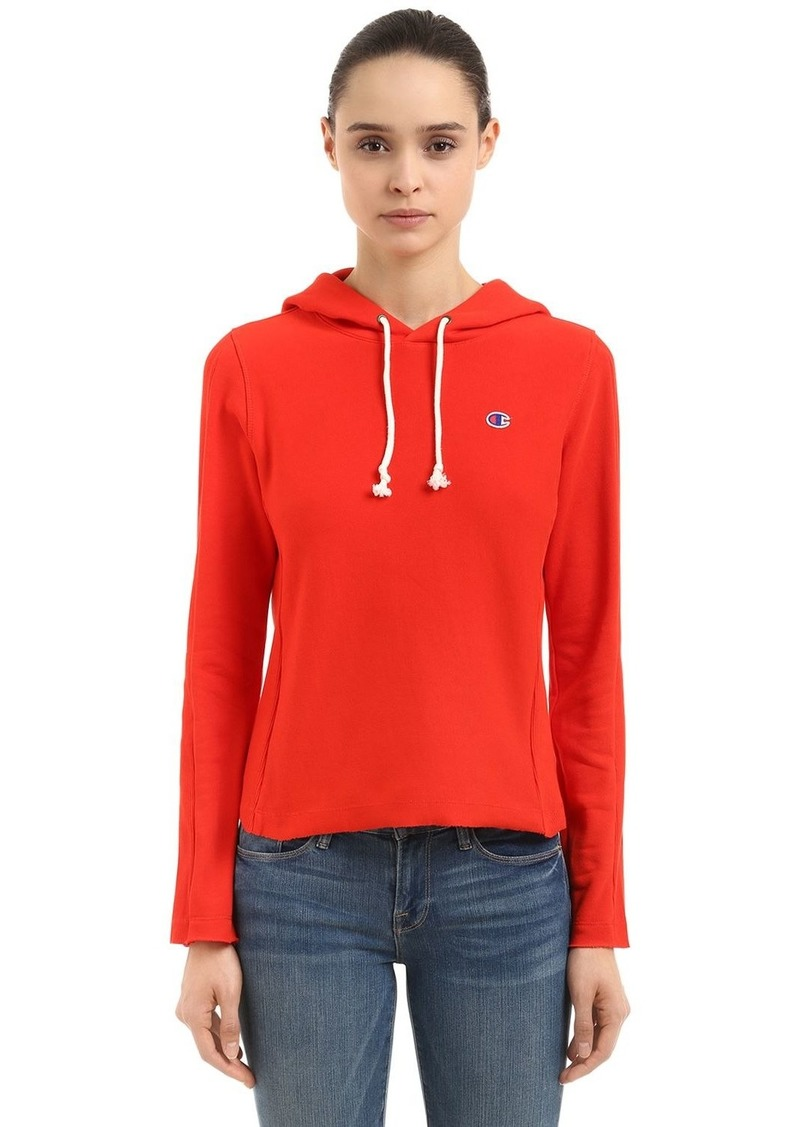 Champion Logo Recycled French Terry Sweatshirt
