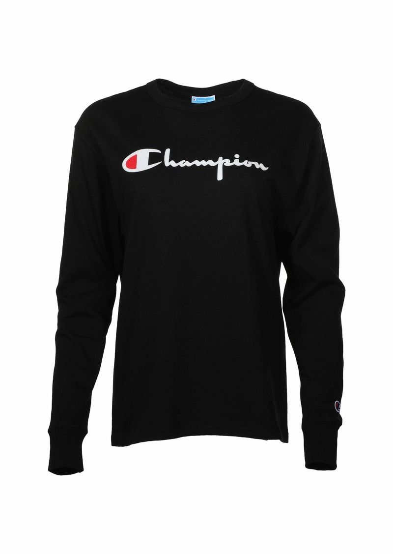 Champion Long Sleeve BF Tee - Flock Script