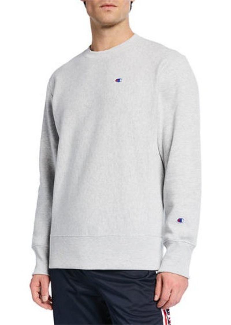 Champion Men's Crewneck Small-C Sweatshirt