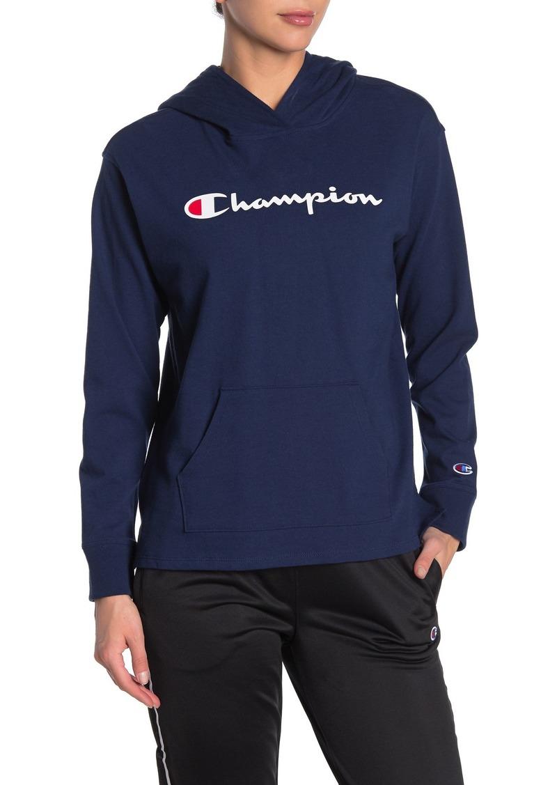 Champion Midweight Logo Hoodie