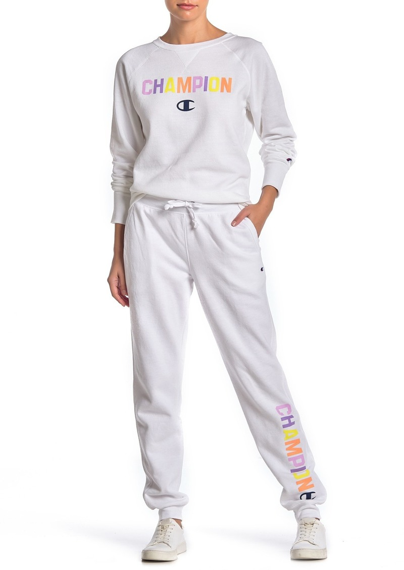Champion Powerblend Graphic Jogger Sweatpants