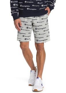 Champion Powerblend Logo Print Shorts