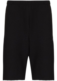 Champion raw-hem knee-length track shorts