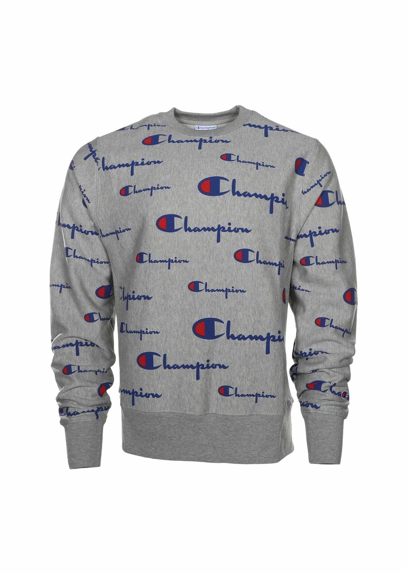 Champion Reverse Weave® Crew - All Over Logo