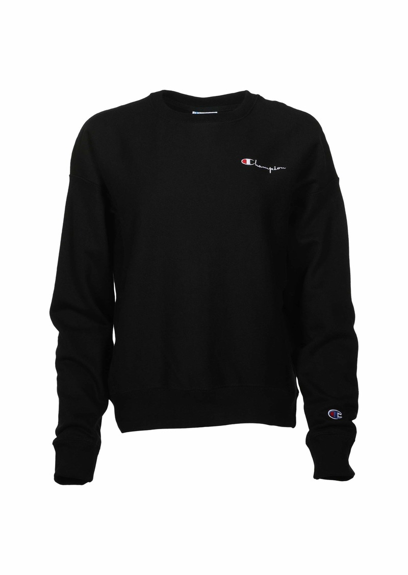 Champion Reverse Weave® Crew - Chest Script