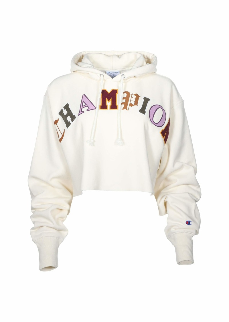 Champion Reverse Weave® Crop Hoodie - Old English