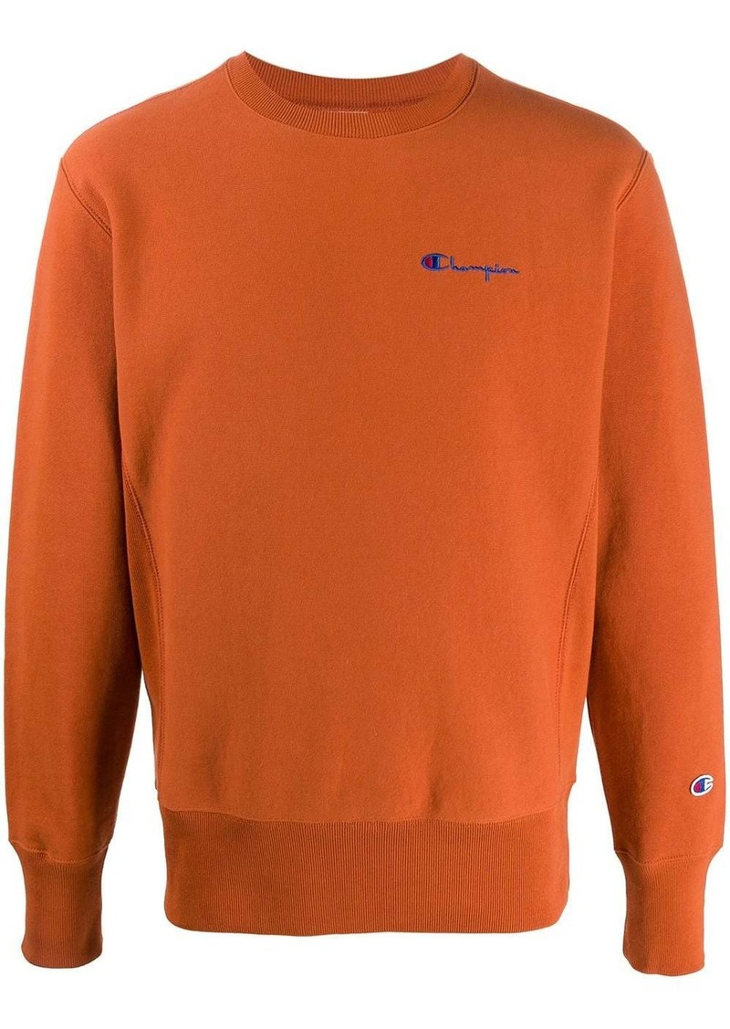 Champion small script crewneck sweatshirt
