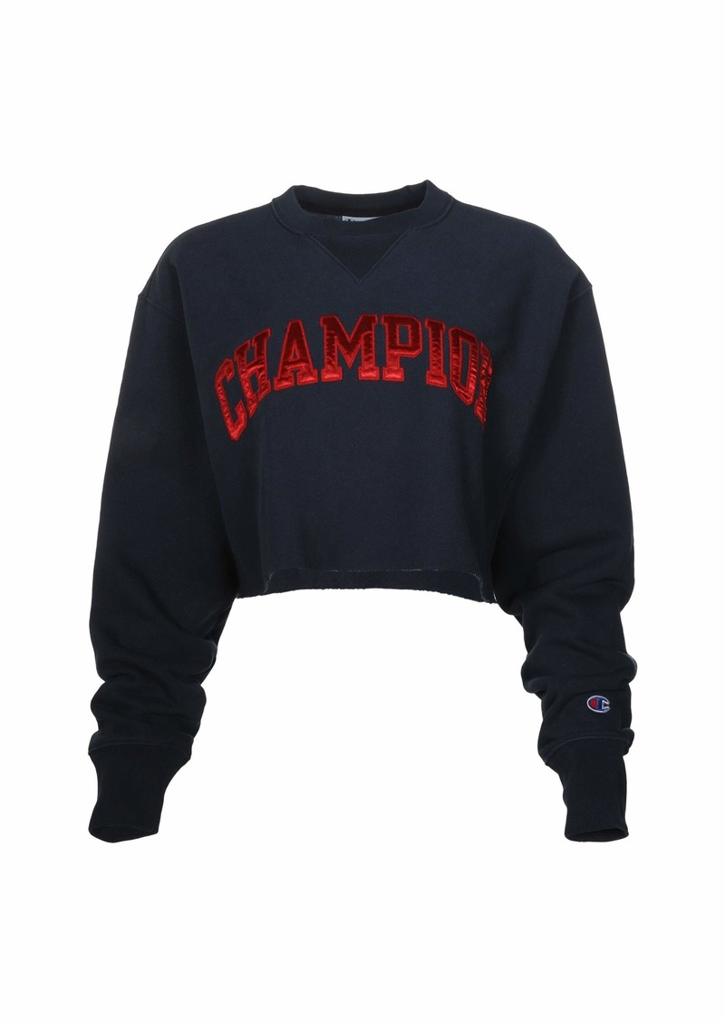 Champion Vintage Wash Reverse Weave® Cropped Cut Off Crew