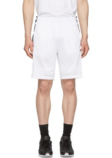 Champion White & Navy Tearaway Shorts
