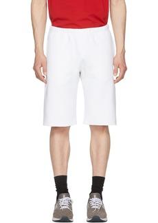 Champion White Fleece Bermuda Shorts