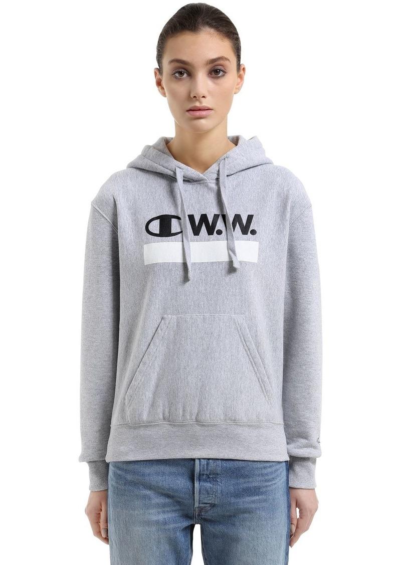 Champion Wood Wood Hooded Cotton Terry Sweatshirt