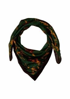 Chan Luu 100% Silk Vintage Print Bandana Neckerchief Scarf