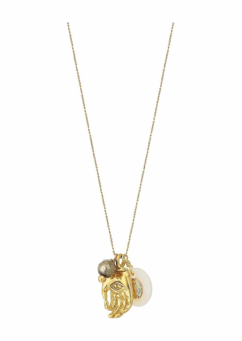 "Chan Luu 15-17"" Adjustable Semi Precious Stone Necklace"
