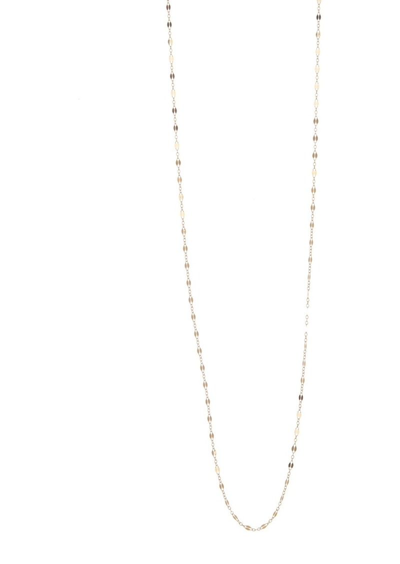 """Chan Luu 18K Gold Plated Sterling Silver 40"""" Necklace"""