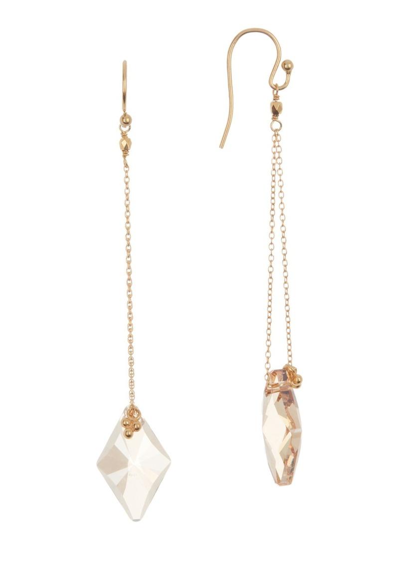 Chan Luu 18K Gold Plated Sterling Silver Crystal Dangle Earrings