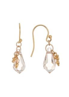 Chan Luu 18K Gold Plated Sterling Silver Crystal Drop Earrings