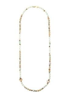 Chan Luu 18k Gold Plated Sterling Silver Semi-Precious Stone Beaded Necklace