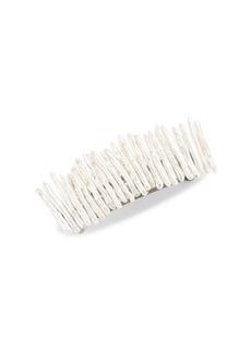 Chan Luu 32MM White Biwa Stick Freshwater Pearl Barrette