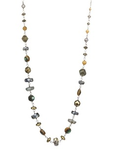Chan Luu Abalone Mix Adjustable Necklace