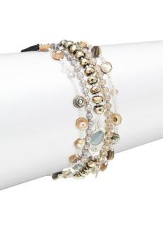 Chan Luu Abalone Mix Stone Bracelet