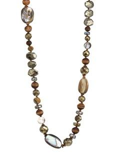 Chan Luu Abalone Mix Stone Necklace