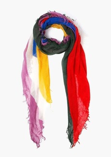 Chan Luu Abstract Print Scarf
