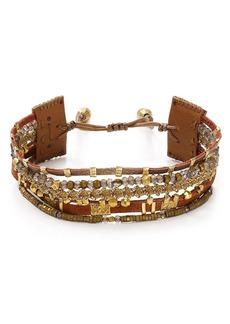 Chan Luu Adjustable Beaded Bracelet