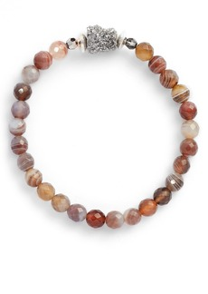 Chan Luu Agate Stretch Bracelet