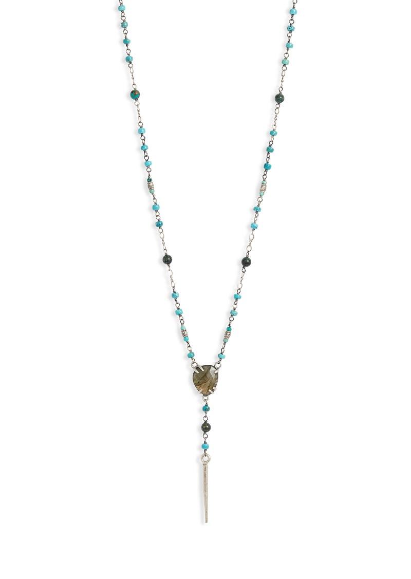 Chan Luu Beaded Y-Necklace