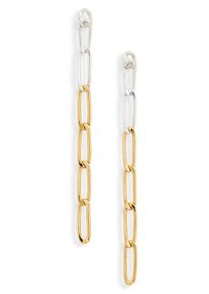 Chan Luu Chain Link Drop Earrings