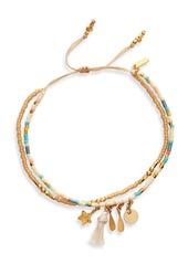 Chan Luu Double Strand Beaded Bracelet
