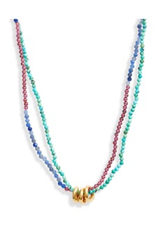 Chan Luu Double Strand Beaded Necklace