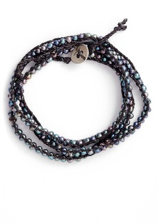 Chan Luu Freshwater Pearl Multi Strand Wrap Bracelet