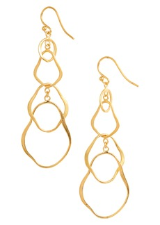 Chan Luu Hammered Link Earrings