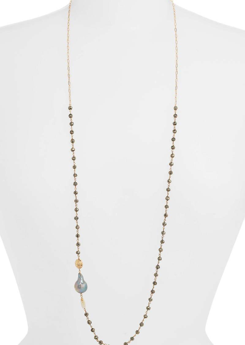 Chan Luu Long Mixed Stone Necklace