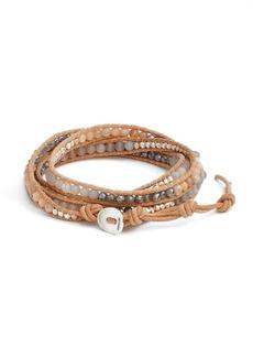 Chan Luu Matte Sunstone 5-Wrap Bracelet