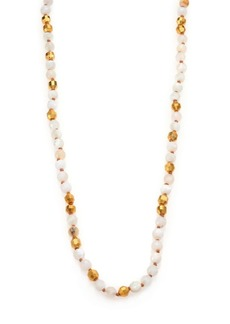 Chan Luu Mother-Of-Pearl & Opal Long Beaded Strand Necklace