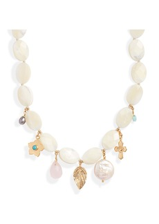 Chan Luu Mother-of-Pearl Charm Necklace