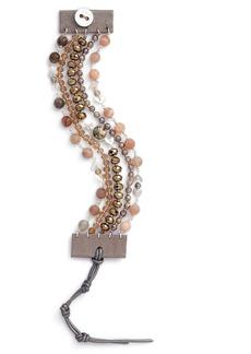 Chan Luu Multistrand Semiprecious Stone Bracelet
