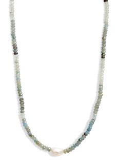 Chan Luu Ombre Cultured Pearl Pendant Necklace