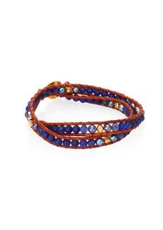 Chan Luu Opal & Mother Of Pearl Wrap Bracelet