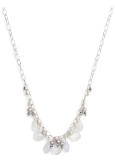 Chan Luu Pearl Charm Necklace