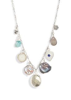 Chan Luu Semiprecious Stone Charm Necklace